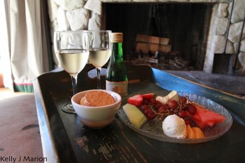 Rowena's Wine and Cheese Plate