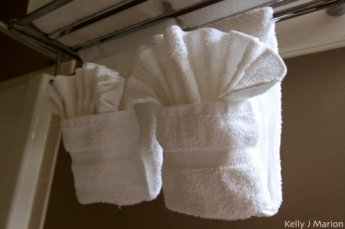 Harrison Beach Hotel towels