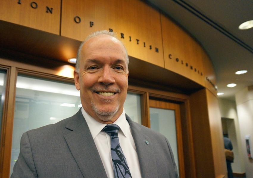 BC NDP Leader, John Horgan