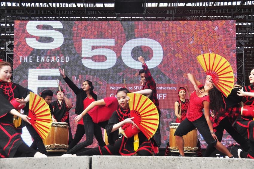 SFU 50th Anniversary