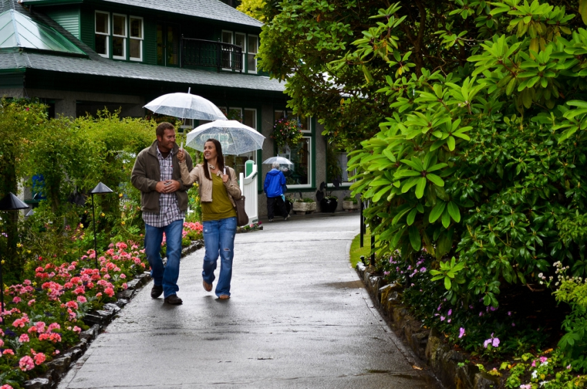 The Butchart Gardens Victoria.