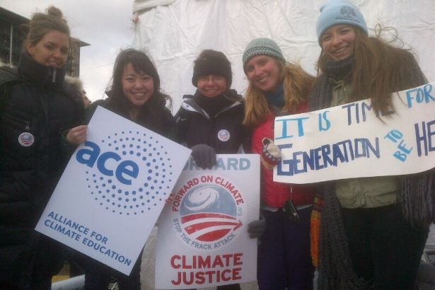 ACE Youth Reps  at #ForwardOnClimate