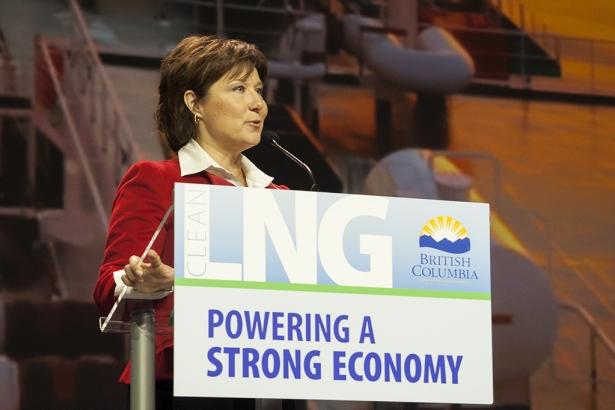 Premier Christy Clark - LNG Summit Vancouver - Mychaylo Prystupa