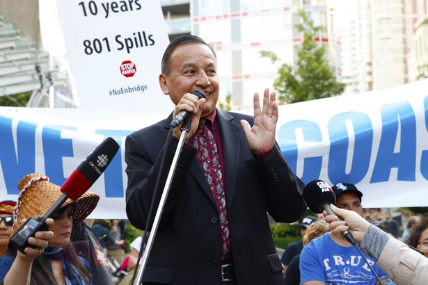 Grand Chief Stewart Phillip after Northern Gateway decision - Mychaylo Prystupa