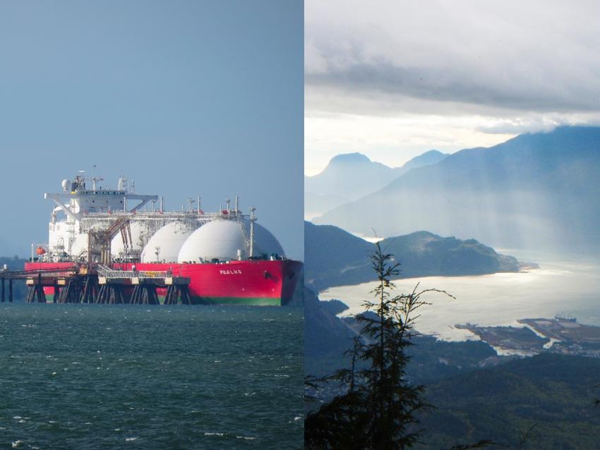 LNG tanker Howe Sound