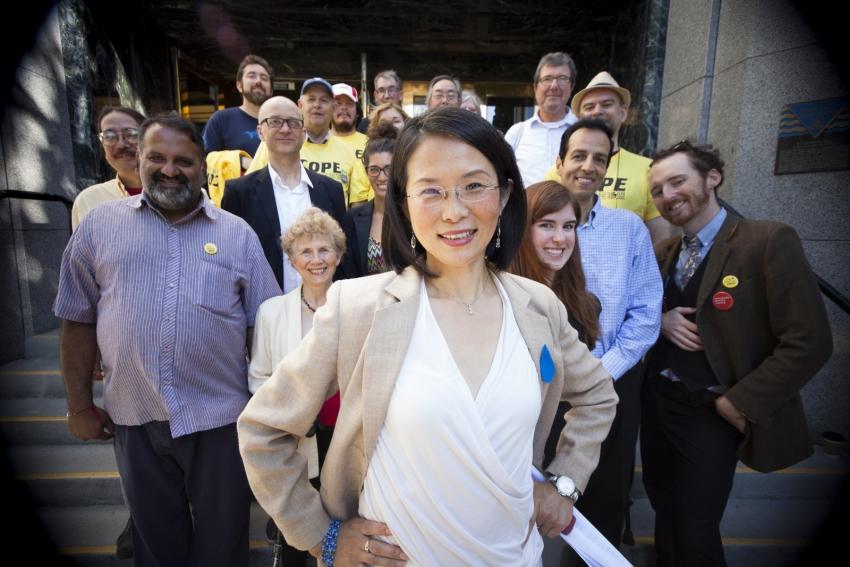 COPE Meena Wong running for Mayor of Vancouver - Mychaylo Prystupa