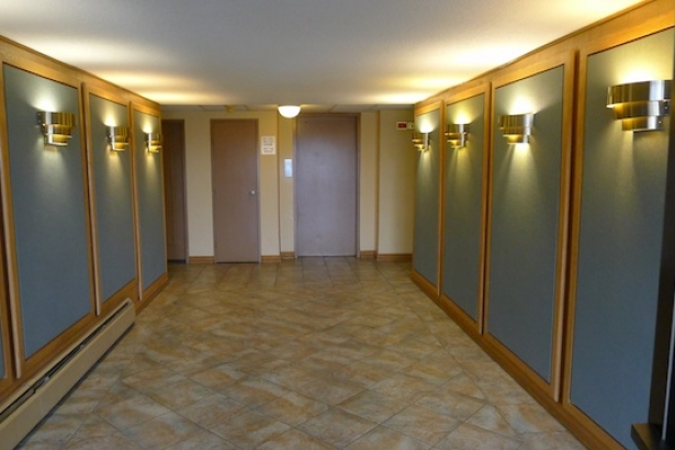 Vancouver apartment search: 1970s lobby