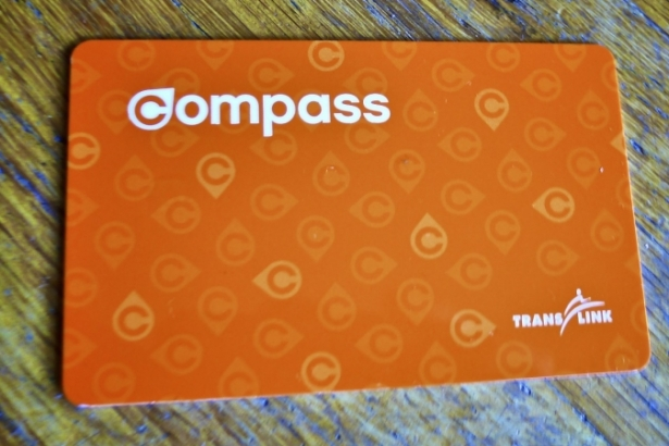 Compass card: Vancouver transit