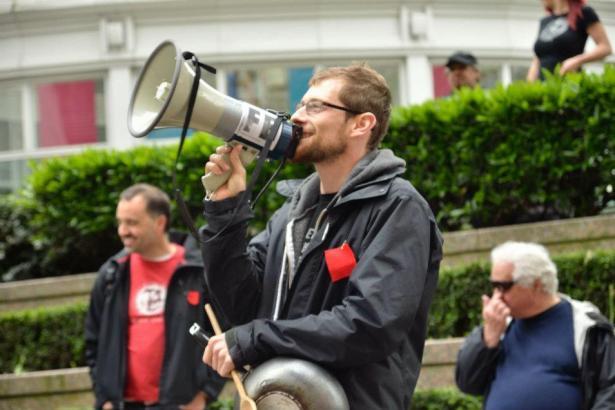 Enbridge proposed pipeline protest Vancouver BC