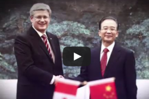 Prime Minister Harper in TV anti-Keystone XL pipline ad to air during Obama spee