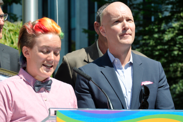 Chrissy Taylor, Tim Richards: Vancouver Pride Society
