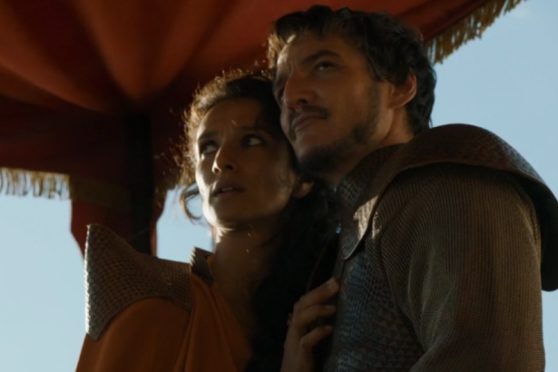 Ellaria Sand and Oberyn Martell: Game of Thrones S04E08