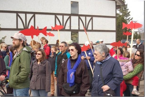 Enbridge Northern Gateway protest