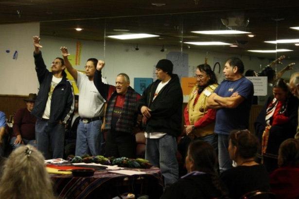 Treaty signers