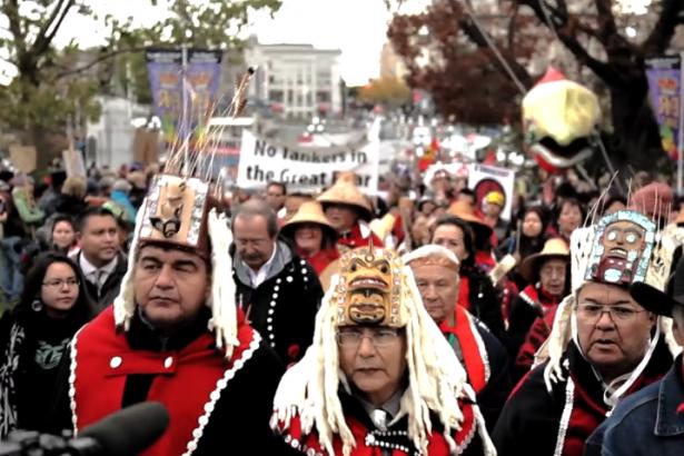 Victoria pipeline protest Zack Embree