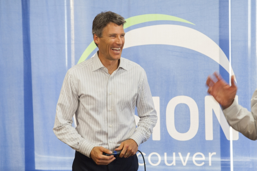 Vision mayoral candidate Gregor Robertson - Mychaylo Prystupa
