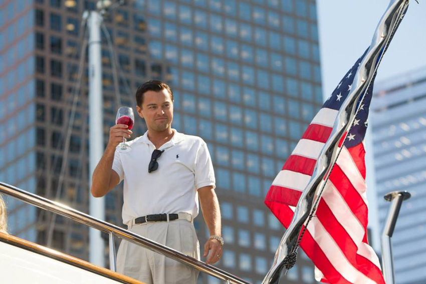 Wolf of Wall Street - Leonard DiCaprio Facebook
