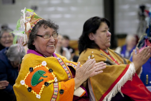 Yinka Dene elder cheers to the rejection of Northern Gateway - Wallace Studios