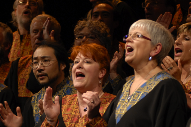 Universal Gospel Choir members