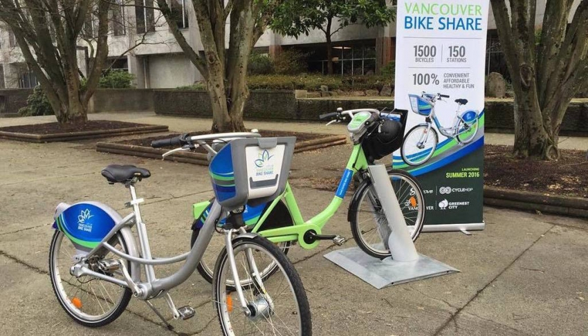 Cyclehop Bike Share system