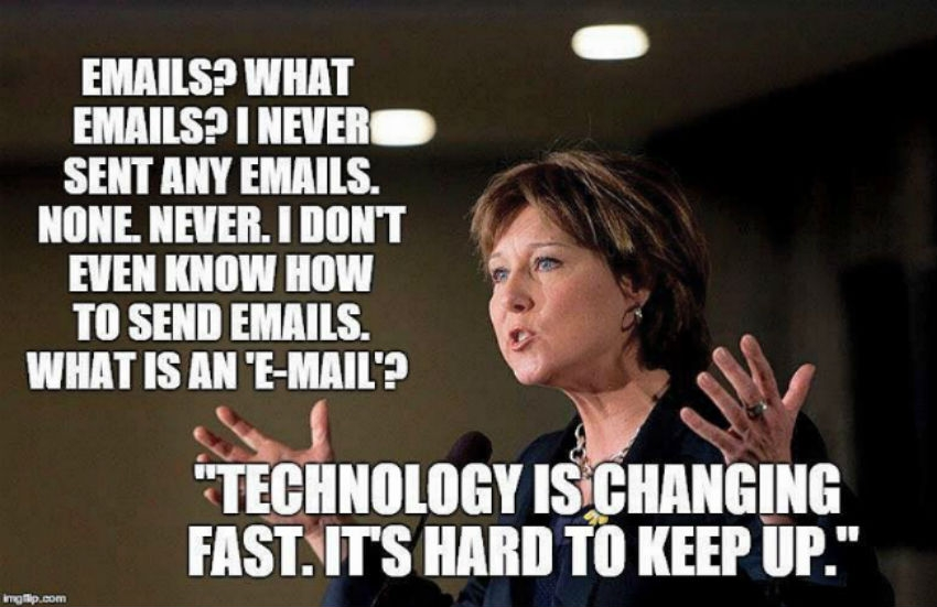 freedom of information, social media, Christy Clark, triple deleting