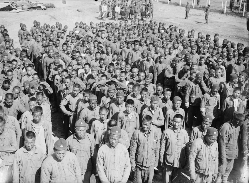 Chinese Labourers in France in WWI