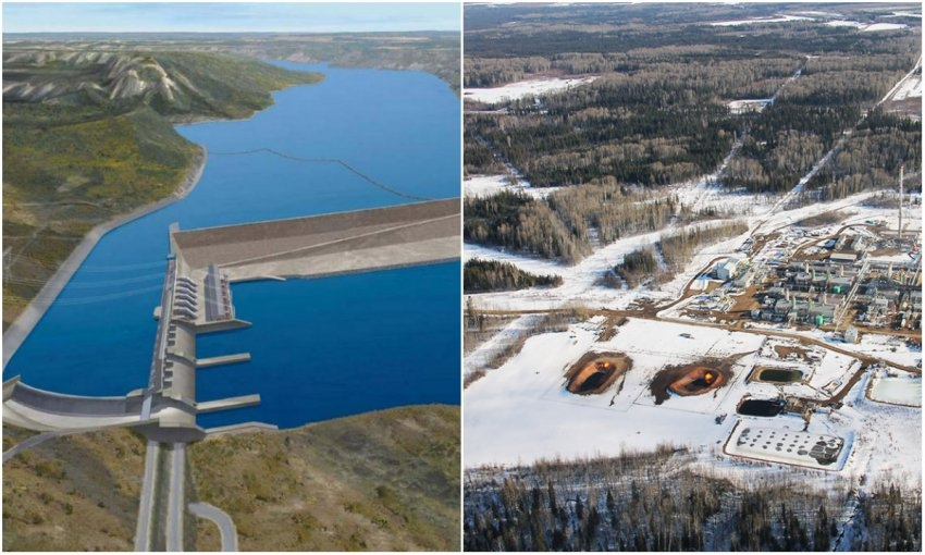BC Hydro sets contract for controversial Site C dam at $1 75