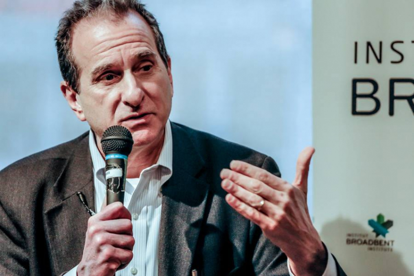 Dan Cantor speaking in Vancouver