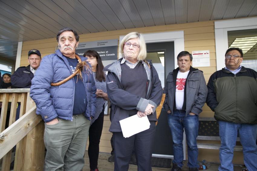 Heiltsuk Nation, Canadian politics, herring