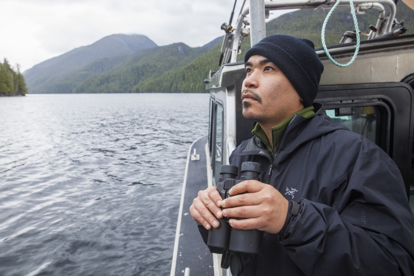 Doug Neasloss Coastal Guardian Watchmen Kitasoo Klemtu - Mychaylo Prystupa