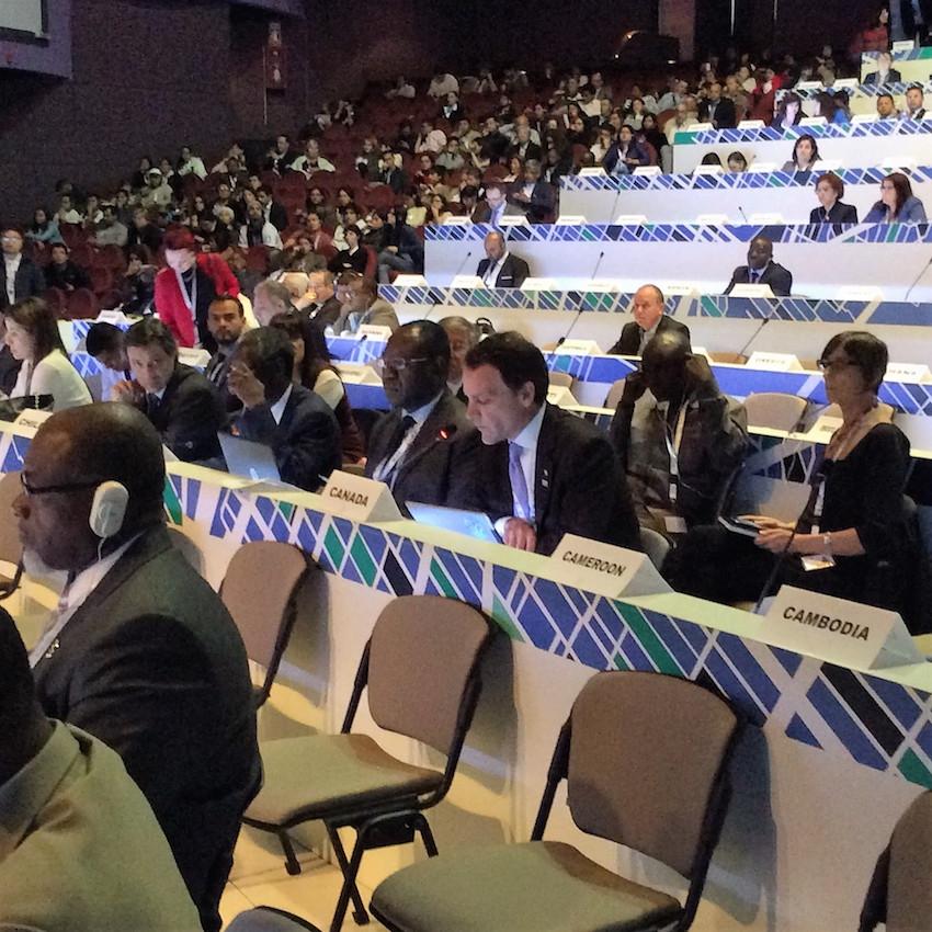 Evan Siddall at UN Habitat III confeerence