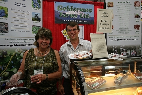 Vendors at Fraser Valley Food Show