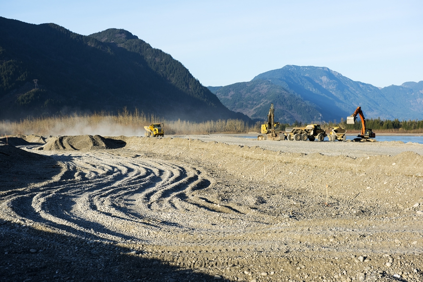 Canadian rivers, heritage river, mining in B.C.