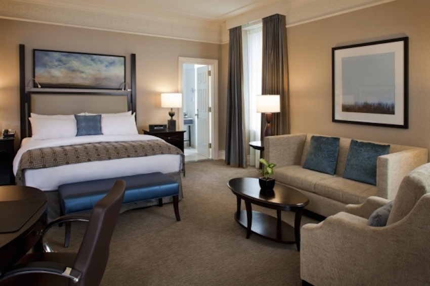 Five stars for calgary 39 s charming luxurious fairmont palliser vancouver observer for Bedroom furniture vancouver bc