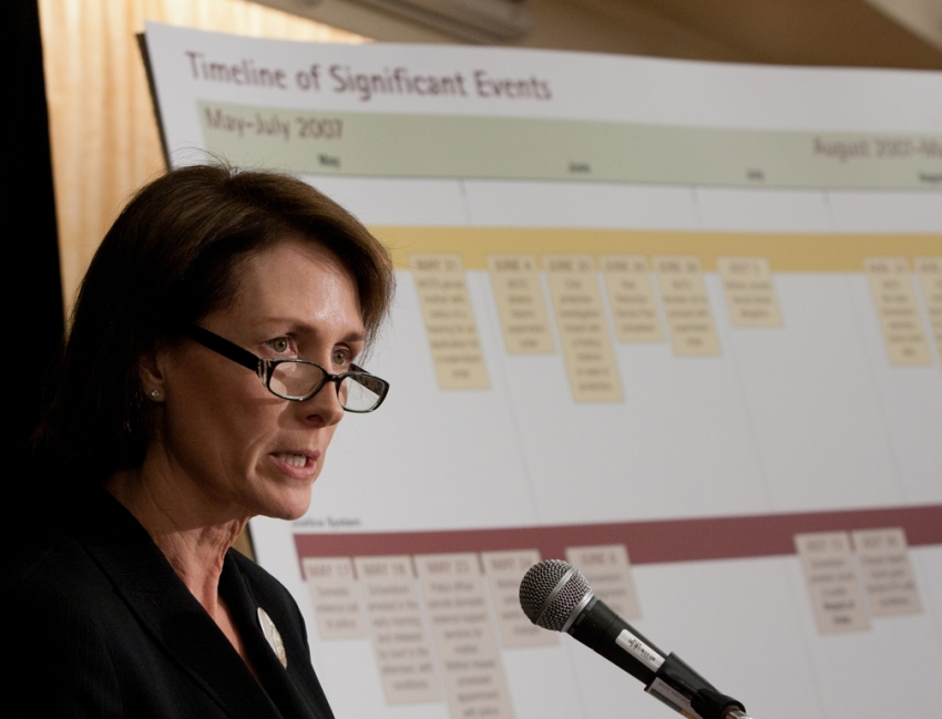 Mary Ellen Turpel-Lafond, TRC, Truth and Reconciliation, Child advocate