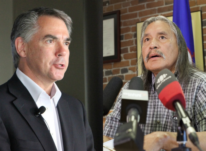 BC First Nation chiefs tell Alberta Premier