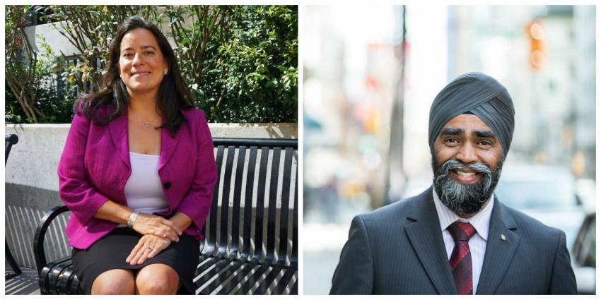 Harjit Sajjan, Jody Wilson-Raybould, Liberal Party, Justin Trudeau, Vancouver