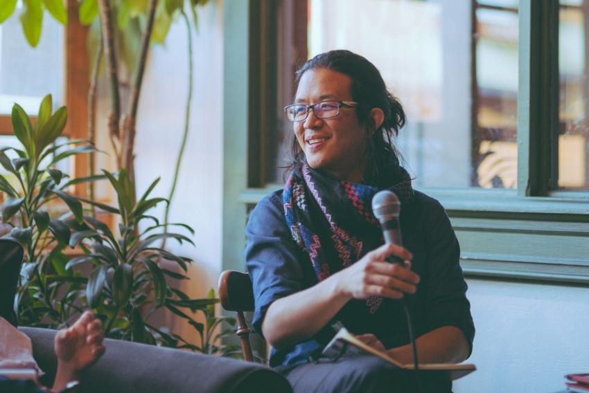 Kevin Huang. Photo by Matt Schroeter.
