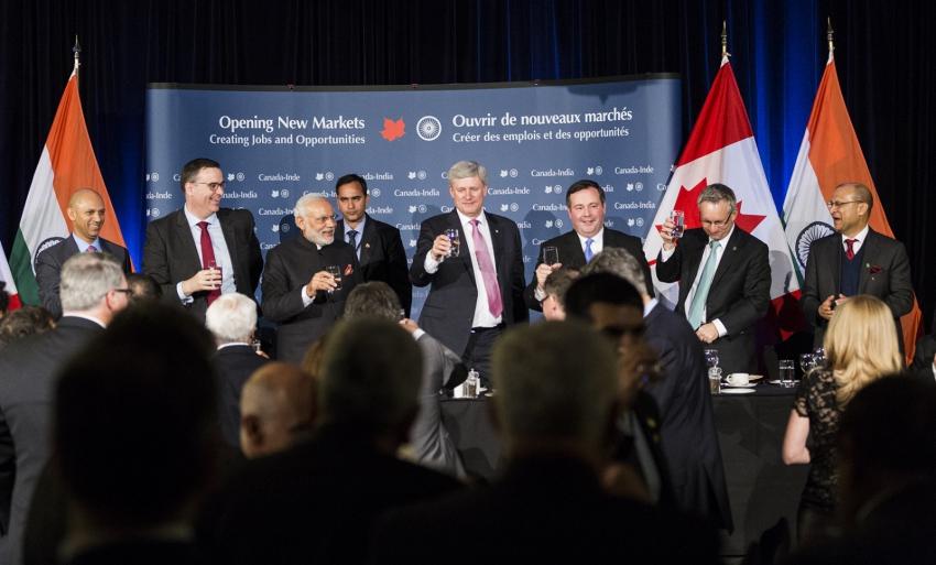Canadian politics, Canada India relations, Cameco uranium deal
