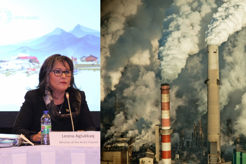 Environment Minister Leona Aglukkaq and oil sands pollution
