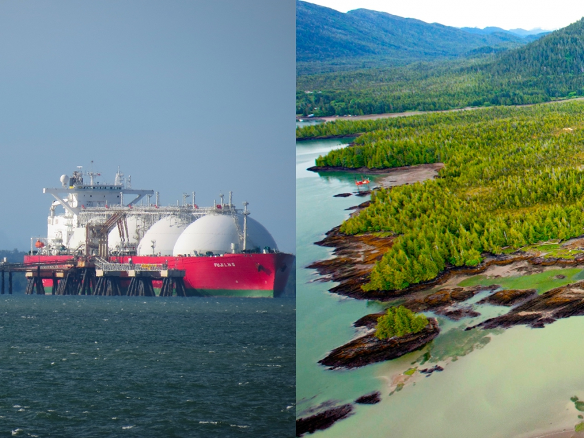 LNG tanker Pacific NorthWest LNG Prince Rupert - Vancouver Observer