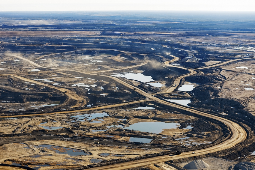 Burtynsky Oil Sands Oil Sands a Promise And a