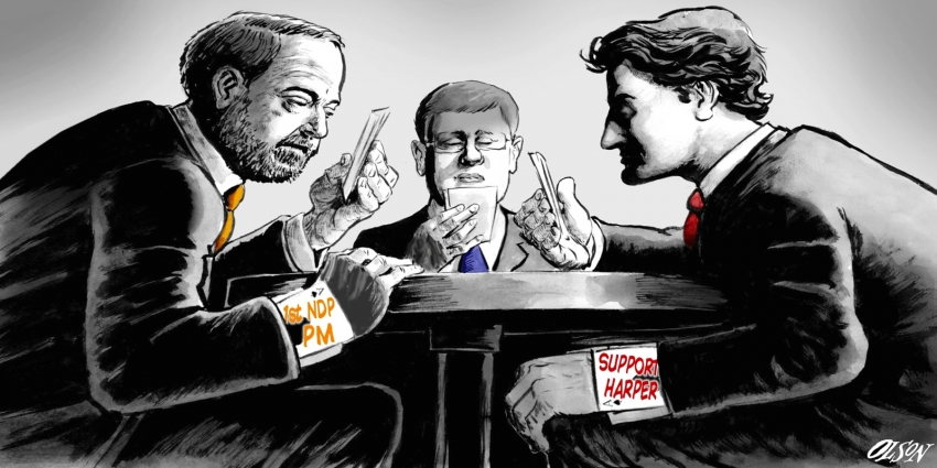 Illustration by Geoff Olson for the National Observer