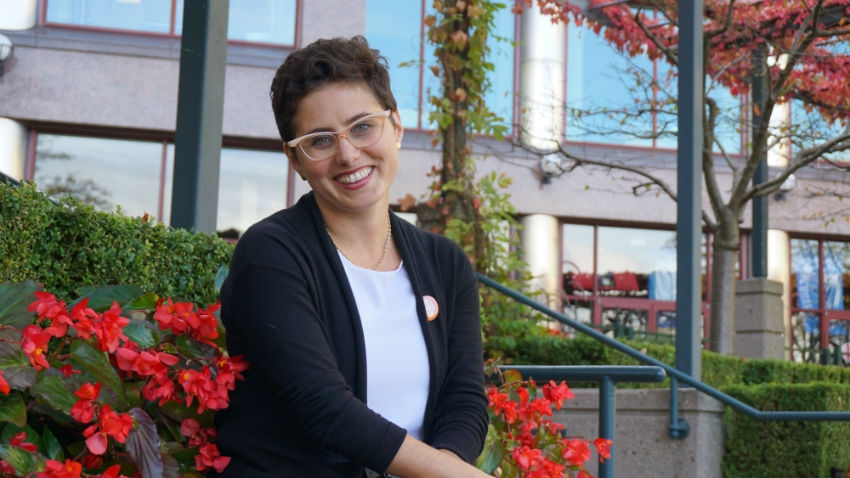 Mira Oreck, Vancouver Granville, Canada's 2015 federal election, NDP, Mulcair