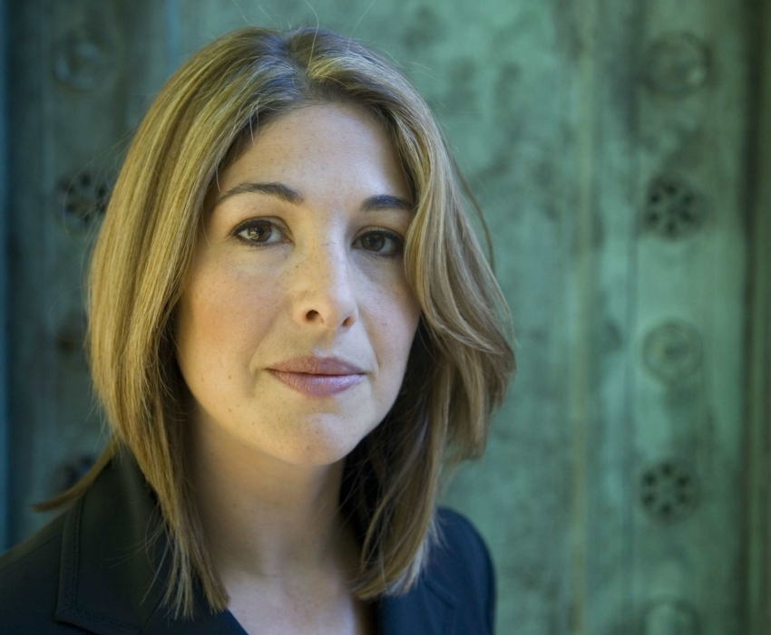 Naomi Klein photo by Ed Kashi