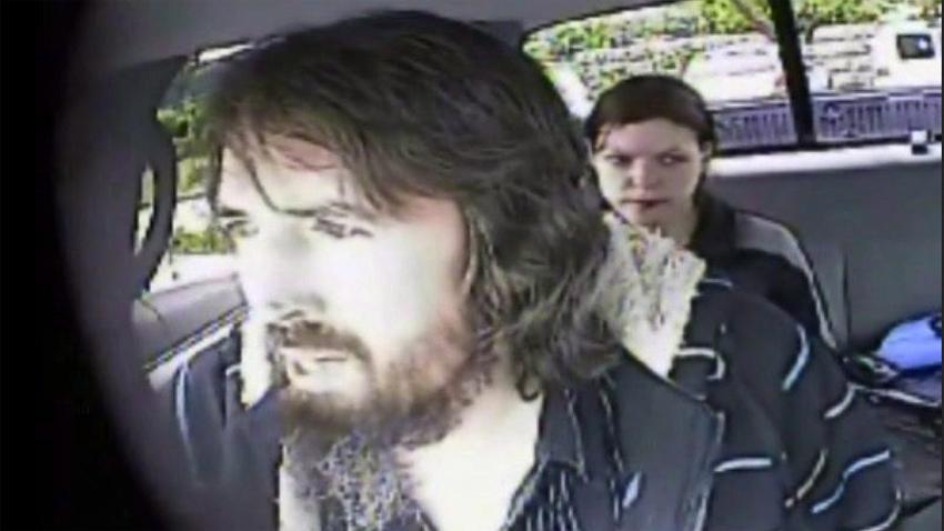 Surveillance footage of John Nuttall and Amanda Korody