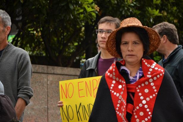 Proposed Enbridge pipeline protest Vancouver BC