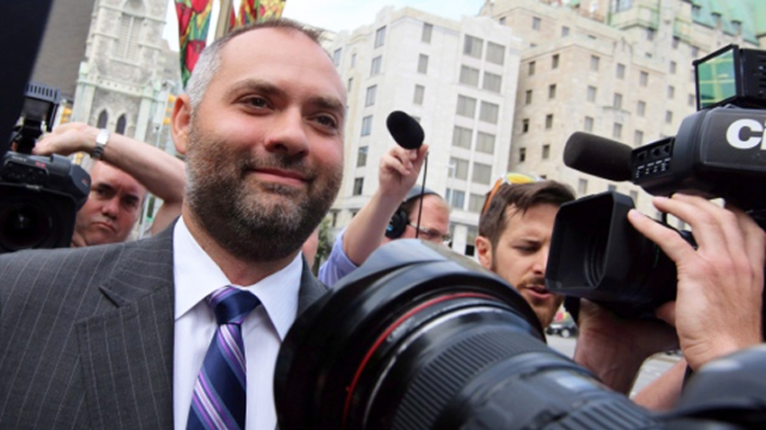 Benjamin Perrin, former legal adviser to Harper. CP photo