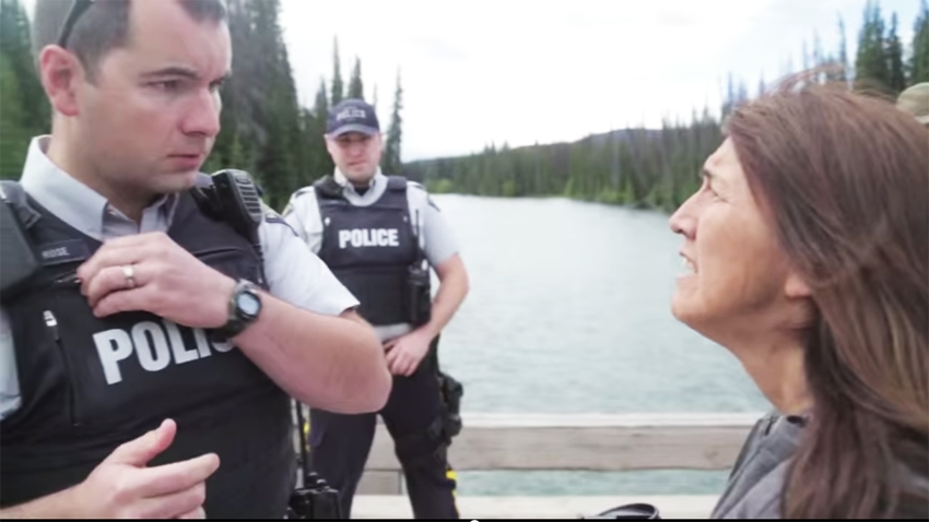 RCMP access request denied by Freda Huson