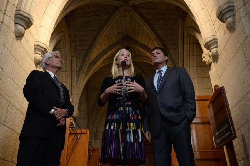 Environment Minister McKenna, and Ministers Carr & LeBlanc